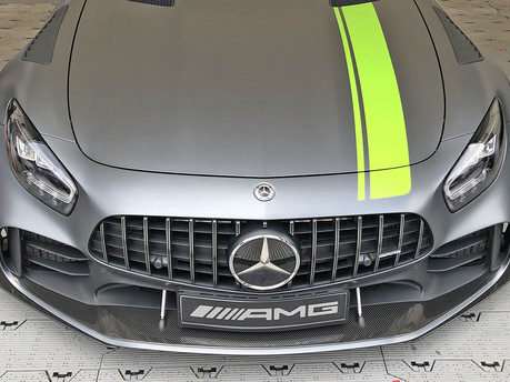 The Mercedes Benz AMG GTR