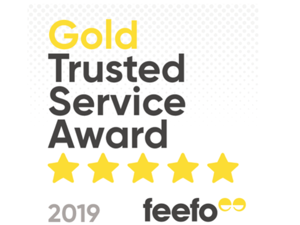 Big Motoring World Feefo Gold Trusted Service Award 2019