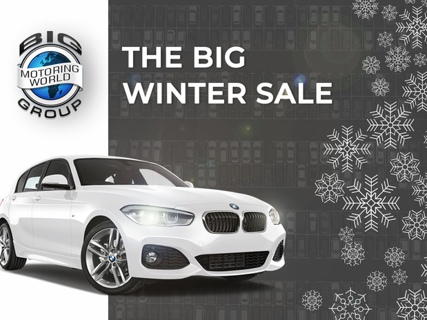 The Big Motoring World Big Winter Sale Is Coming!
