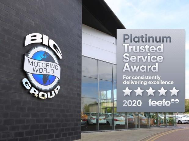Big Motoring World Receives Feefo Platinum Trusted Service Award 2020