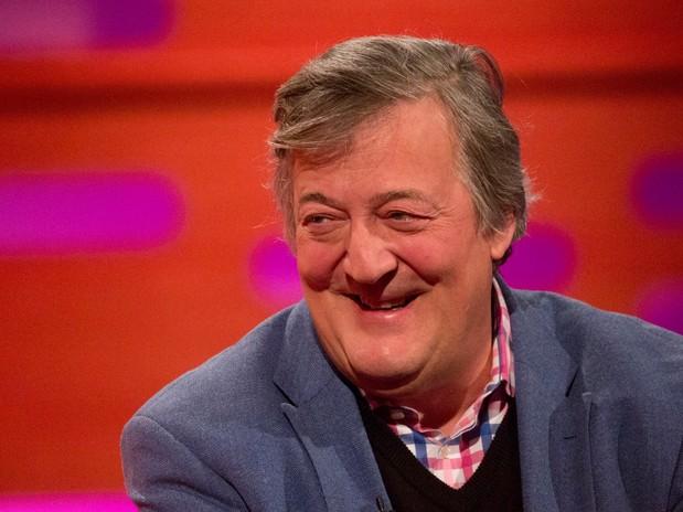 Stephen Fry named 'dream car passenger' in poll