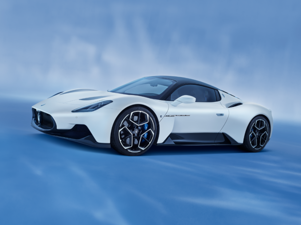 Maserati reveals 621bhp MC20 supercar