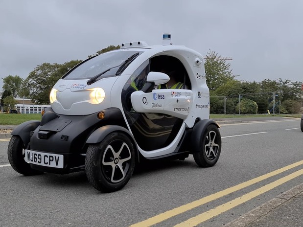 UK's first driverless car lab launches in Oxfordshire