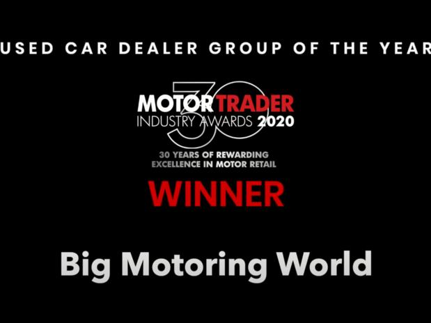 Motor Trader Awards 2020: Big Motoring World Wins Used Car Dealer Group of the Year