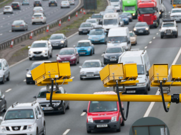 Most drivers back wider use of average speed cameras on motorways