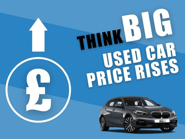 Unbelievable used car price rises have seen some vehicles add thousands to their value in May
