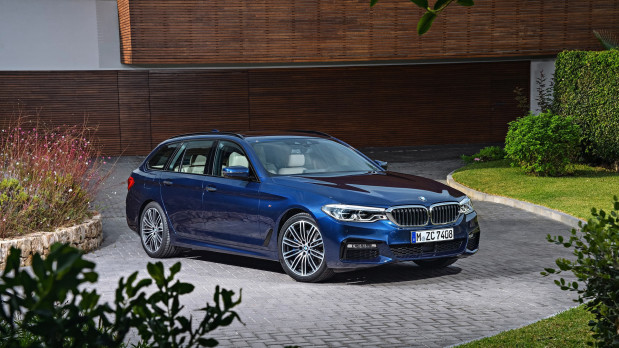 Big Motoring World Reviews New BMW 5 Series Touring