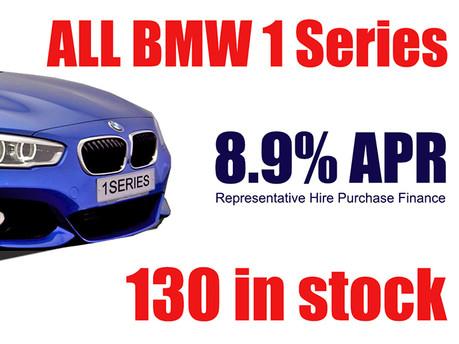 BMW 1 Series Finance Offer