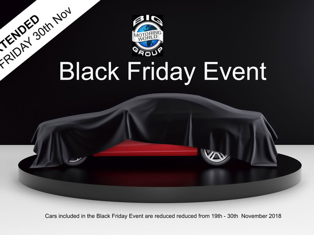 Black Friday Event Extended