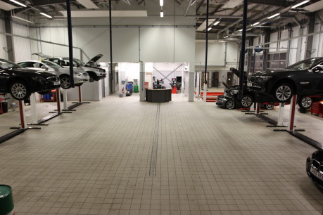 Workshop & Vehicle Preparation