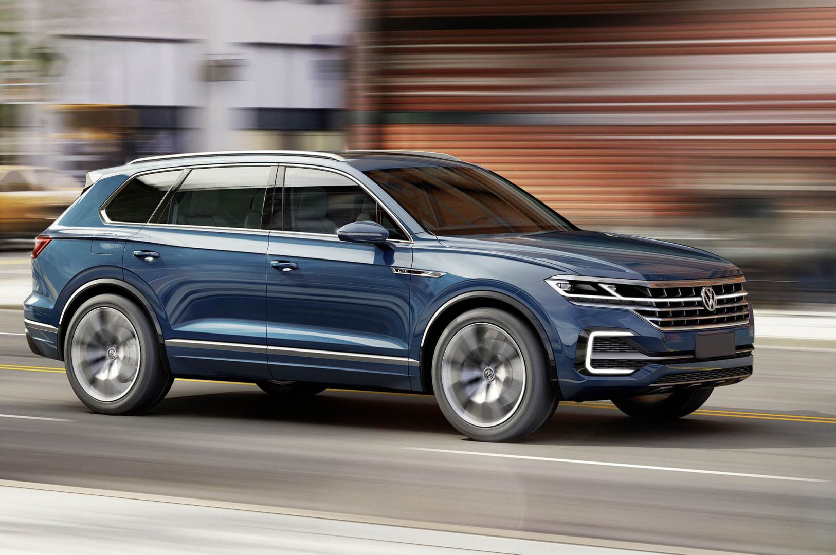 2018 volkswagen touareg. simple 2018 letu0027s start with the exterior designwe will see a more angular look to  body work define features large chrome grille which flows into led  intended 2018 volkswagen touareg e