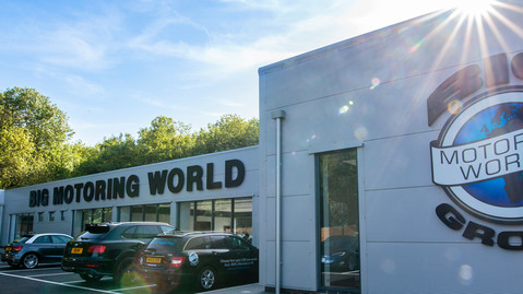 Welcome to Big Motoring World Blue Bell Hill
