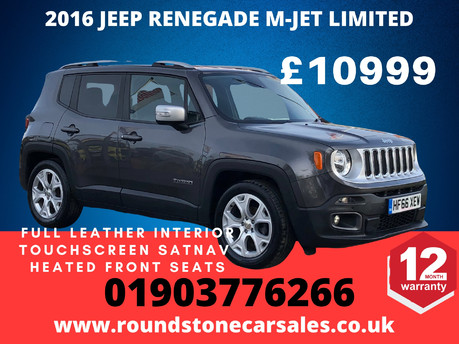 Jeep Renegade M-JET LIMITED SATNAV