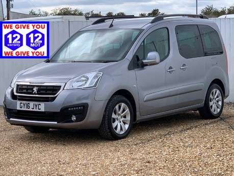 Peugeot Partner BLUE HDI S/S TEPEE ALLURE WITH SAT NAV