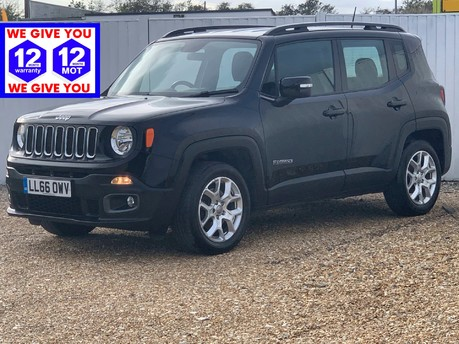 Jeep Renegade E-torQ LONGITUDE WITH SAT NAV
