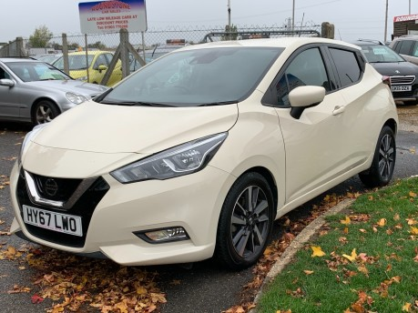 Nissan Micra IG-T N-CONNECTA WITH SAT NAV