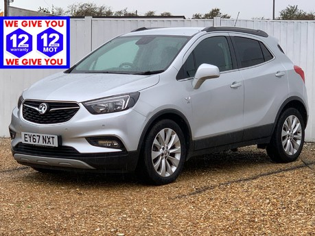 Vauxhall Mokka X ELITE S/S ELEC SEATS & FULL LEATHER