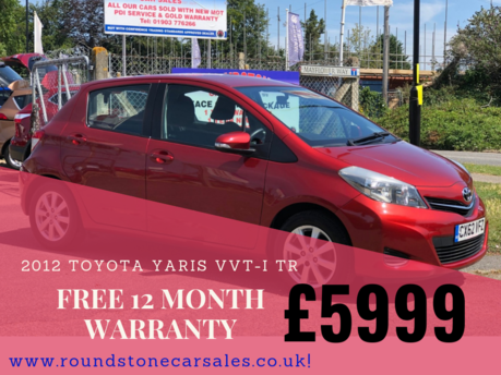 Toyota Yaris 1.3 VVT-I TR 5Dr Only 28000 Miles