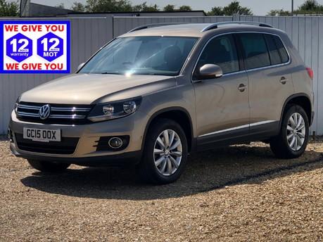 Volkswagen Tiguan MATCH TDI BLUEMOTION TECH 4MOTION DSG SAT NAV