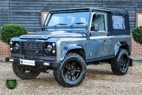 Land Rover Defender TD SOFT TOP - SMC OVERLAND 2