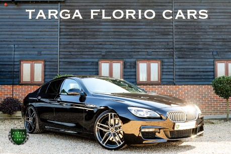 BMW 6 Series 650I M SPORT GRAN COUPE
