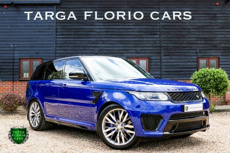 Land Rover Range Rover Sport V8 SVR