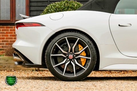 Jaguar F-Type V8 SVR AWD CONVERTIBLE 13
