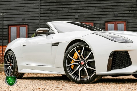 Jaguar F-Type V8 SVR AWD CONVERTIBLE 17