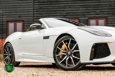 Jaguar F-Type V8 SVR AWD CONVERTIBLE 18