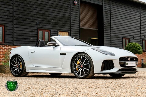 Jaguar F-Type V8 SVR AWD CONVERTIBLE 23