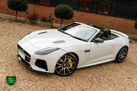 Jaguar F-Type V8 SVR AWD CONVERTIBLE 26