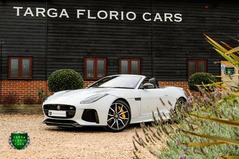 Jaguar F-Type V8 SVR AWD CONVERTIBLE 29