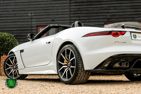 Jaguar F-Type V8 SVR AWD CONVERTIBLE 32