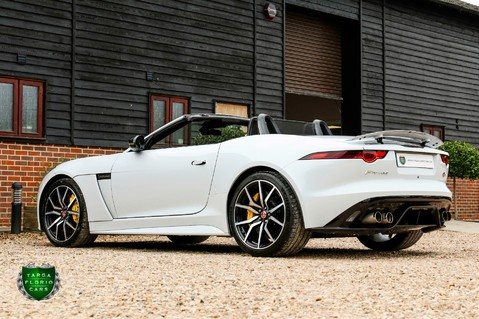 Jaguar F-Type V8 SVR AWD CONVERTIBLE 36