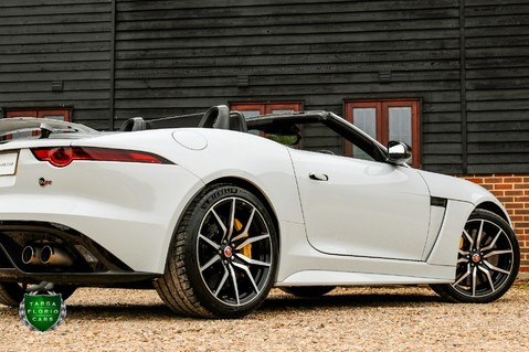 Jaguar F-Type V8 SVR AWD CONVERTIBLE 40