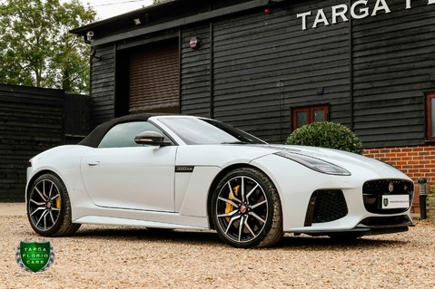 Jaguar F-Type V8 SVR AWD CONVERTIBLE 42