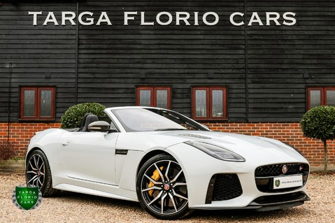 Jaguar F-Type V8 SVR AWD CONVERTIBLE 1