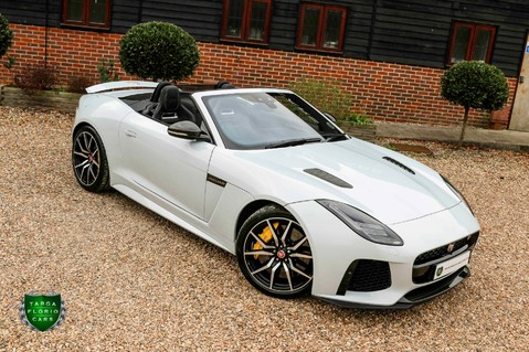 Jaguar F-Type V8 SVR AWD CONVERTIBLE 2