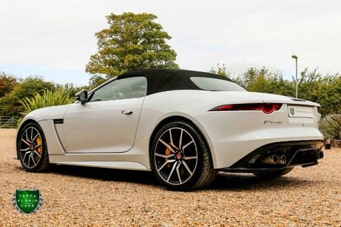 Jaguar F-Type V8 SVR AWD CONVERTIBLE 6