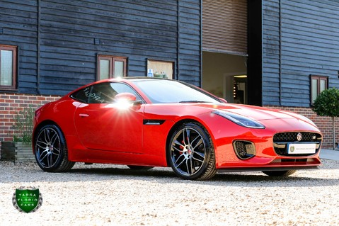 Jaguar F-Type I4 CHEQUERED FLAG 21