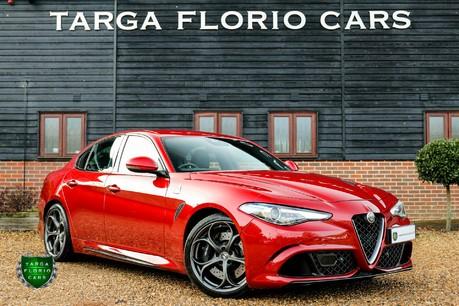 Alfa Romeo Giulia V6 BITURBO QUADRIFOGLIO