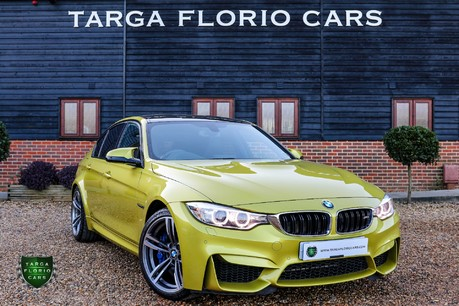 BMW M3 DCT Austin Yellow