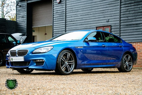 BMW 6 Series 640D M SPORT GRAN COUPE 20