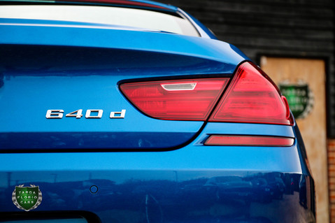 BMW 6 Series 640D M SPORT GRAN COUPE 34
