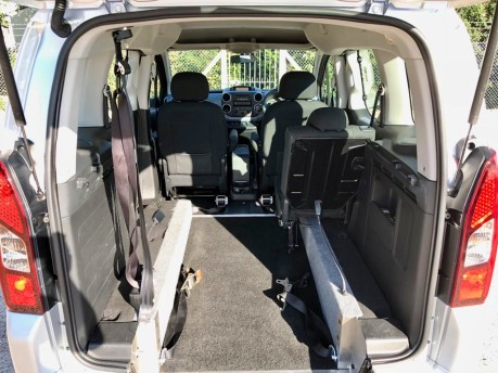 Peugeot Partner 2013 E-HDI TEPEE S Wheelchair Accessible Vehicle WAV 4