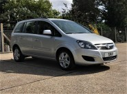 Vauxhall Zafira EXCLUSIV Wheelchair Accessible Vehicle 1