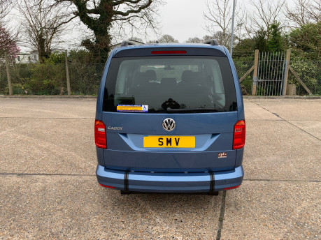Volkswagen Caddy Maxi 2020 NEW & UNREGISTERED C20 LIFE TDI Wheelchair Accessible Vehicles WAV 4