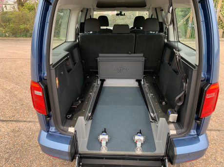 Volkswagen Caddy Maxi 2020 NEW & UNREGISTERED C20 LIFE TDI Wheelchair Accessible Vehicles WAV 7