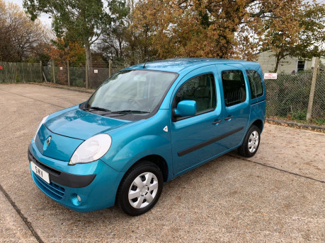 Renault Kangoo 2010 EXPRESSION 16V wheelchair & scooter accessible vehicle WAV 1