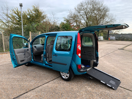 Renault Kangoo 2010 EXPRESSION 16V wheelchair & scooter accessible vehicle WAV 24
